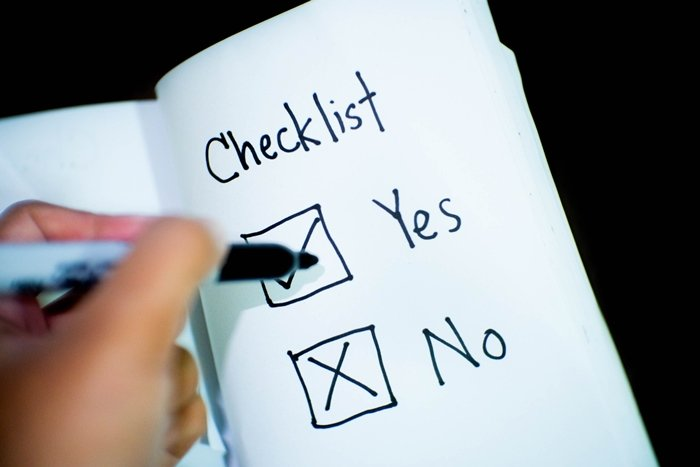Buying a new computer checklist